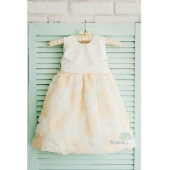 Платье Flavien с лепестками