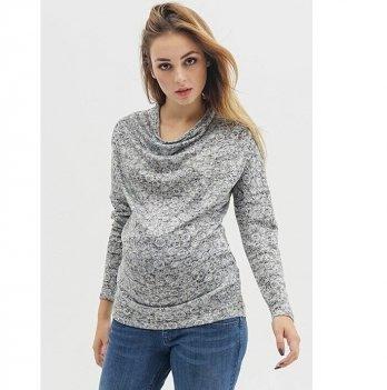 Джемпер для беременных To Be Серый 754071