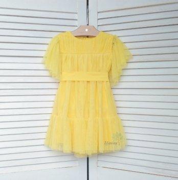 Платье Flavien солнечно-желтое