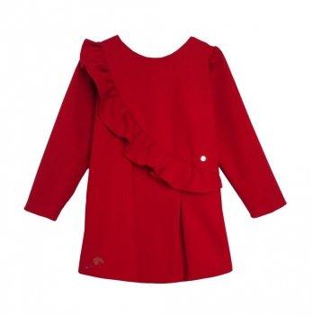 Платье для девочки Flavien Сasual, красное