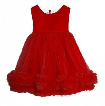Платье нарядное Flavien для девочки, красное