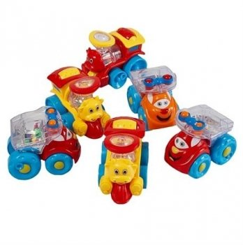 Набор игрушек Huile Toys 706 Мультяшная машинка 6 шт