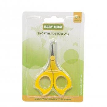 Ножницы с короткими лезвиями, BABY TEAM 7101