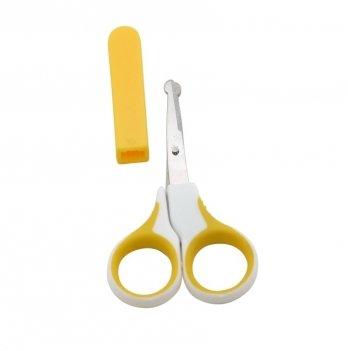 Ножницы детские с чехлом, BABY TEAM 7102 желтый