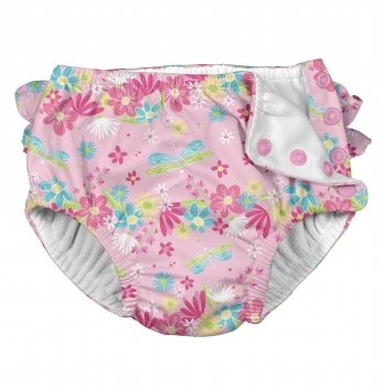 Трусики для плавания I Play 711060-2300 Light Pink Dragonfly Floral