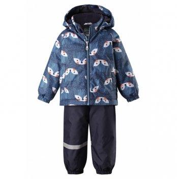 Зимний комплект (куртка и брюки на подтяжках) Lassie Casual, синий