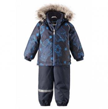 Комплект (куртка и брюки на подтяжках) Lassie Casual, синий