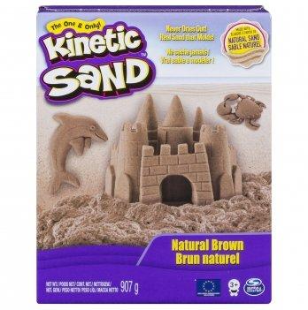 Песок для детского творчества Wacky-Tivities - KINETIC SAND BEACH (натуральный цвет, 907 г)