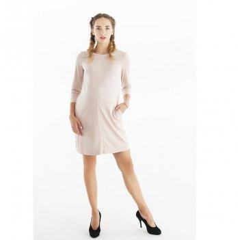 Платье для беременных To Be Бежевый 4038357