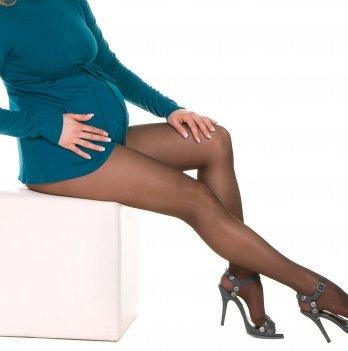 Колготки MammaLux для беременных fitnes с утяжкой по ноге 40 den капучино, 715