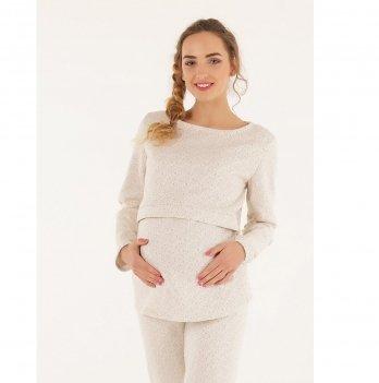 Джемпер для беременных и кормящих To Be Кремовый 4050350