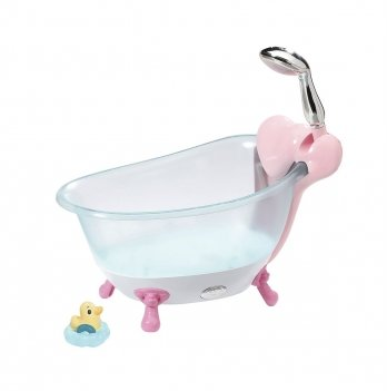 Автоматическая ванночка для куклы Baby Born - Веселое купание (свет, звук), Zapf Creation