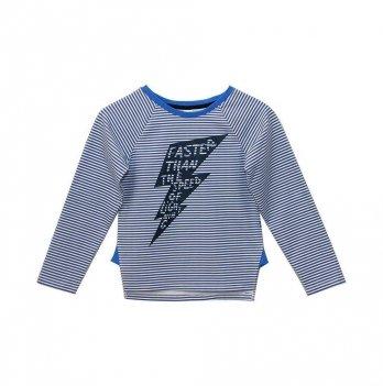 Джемпер для мальчика Minikin Бело-синий 177807