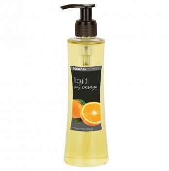 Органическое жидкое мыло Sodasan Spicy Orange, 7226, 250 мл