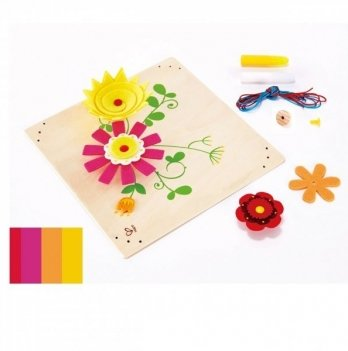 Набор для творчества Hape Цветы