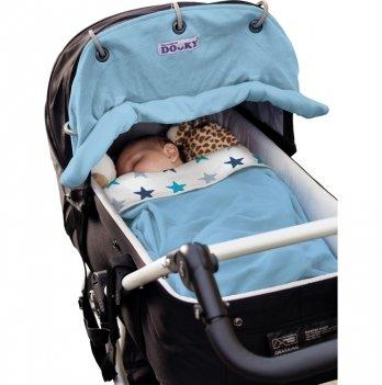 Защитная накидка на коляску и автокресло Dooky Baby - Baby Blue