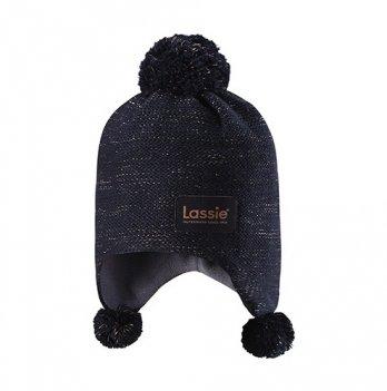 Зимняя шапка Lassie by Reima 728717 Темно-синий