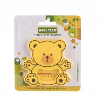 Термометр для воды Мишка BABY TEAM 7302 желтый