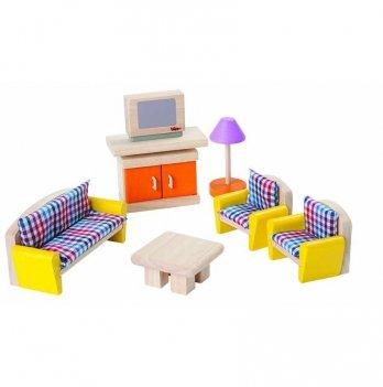Деревянная игрушка PlanToys® Гостиная-Нео