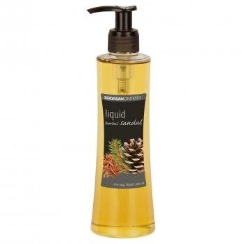 Органическое жидкое мыло Sodasan Herbal Sandal, 7326, 250 мл