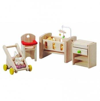 Деревянный игровой набор PlanToys® Детская комната, 7329
