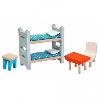 Деревянный игровой набор PlanToys® Детская комната, 7350
