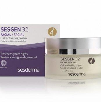 Крем для сухой и чувствительной кожи Sesderma Sesgen 32, клеточный активатор, 50 мл, 35+