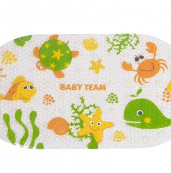 Коврик для ванны 69,5*38,5 см, BABY TEAM