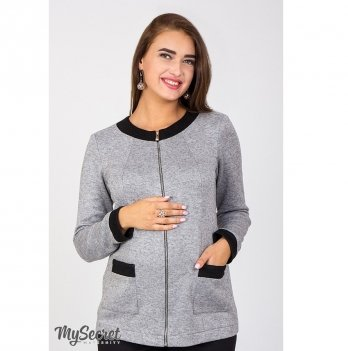 Жакет для беременных Coco MySecret CR-47.061 Серый меланж