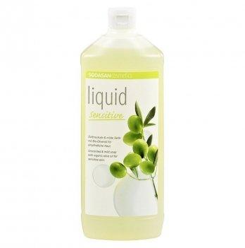 Органическое жидкое мыло Sodasan Sensitive, 7516,1 л