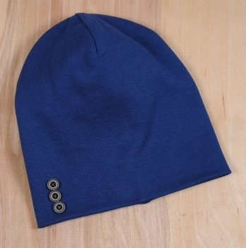 Шапочка с пуговками Magbaby синий