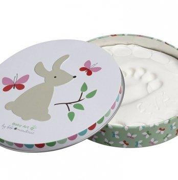 Набор для создания отпечатков Baby Art Магическая коробочка Кролик