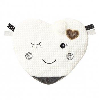 Обнимашка-шуршалка BabyOno Подмигивающее сердце 762