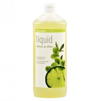 Органическое жидкое мыло Sodasan Citrus-Olive, 7716, 1 л