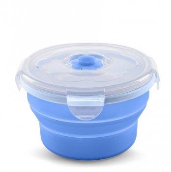 Контейнер-трансформер для еды Nuvita 6м+, 230мл, синий