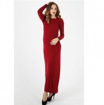 Вечернее платье для беременных To Be Бордовый 1101022