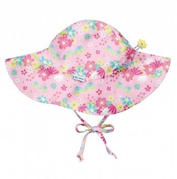 Солнцезащитная панамка I Play 787160-2300 Light Pink Dragonfly Floral