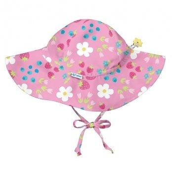 Солнцезащитная панамка I Play, Hot Pink Stripe Flower 787160-2302