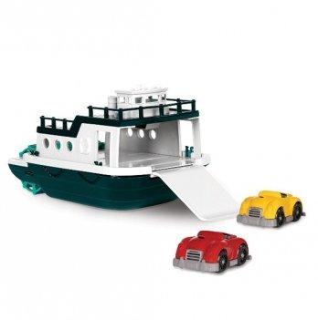 Игровой набор Battat, Паром (корабль и две машинки)