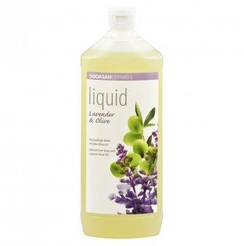Органическое жидкое мыло Sodasan Lavender-Olive, 7916, 1 л