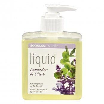 Органическое жидкое мыло Sodasan Lavender-Olive, 7936, 300 мл