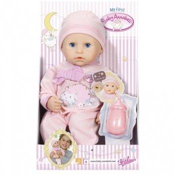 Кукла MY FIRST BABY ANNABELL  Zapf Creation, МОЯ  МАЛЫШКА (девочка, 36 см)