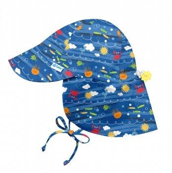 Солнцезащитная панамка I Play 797153-627 Royal Blue Sea Friends