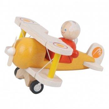 Деревянная игрушка PlanToys® Классический самолет