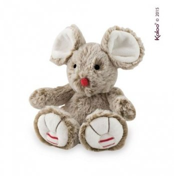 Мягкая игрушка Kaloo Мышка бежевая маленькая, Rouge