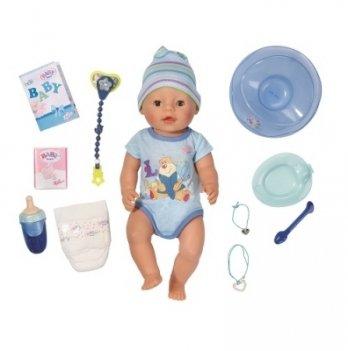 Кукла Zapf Creation, BABY BORN - Очаровательный малыш (43 см, с аксессуарами)