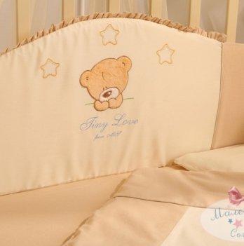 Защита для кроватки в комплект Tiny Love шоколадный Маленькая Соня