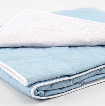 Одеяло детское хлопковое ТМ Sasha, 100/140 голубое