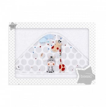 Полотенце Interbaby Jungle White, белое
