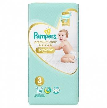 Трусики Pampers Premium Care Размер 3 (Midi) 6-11 кг 48 шт